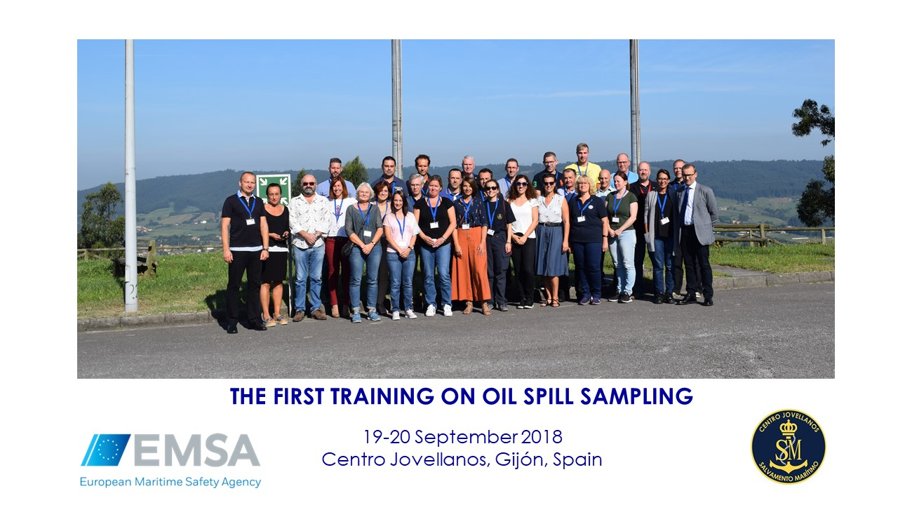 Image THE FIRST TRAINING ON OIL SPILL SAMPLING