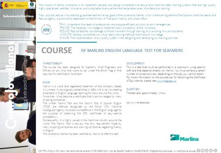 Image ISF Marlins English Language Test For Seafarers