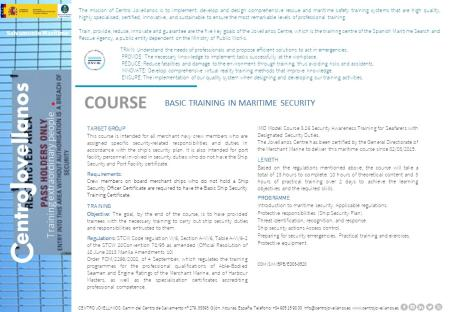 Image Basic Training in Maritime Security